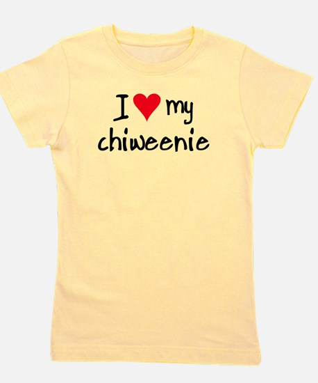 I LOVE MY Chiweenie T-Shirt