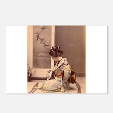 Tokyo - Japanese Vintage Postcards (Package of 8)