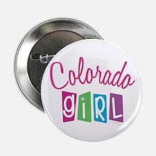 """COLORADO GIRL! 2.25"""" Button (10 pack)"""