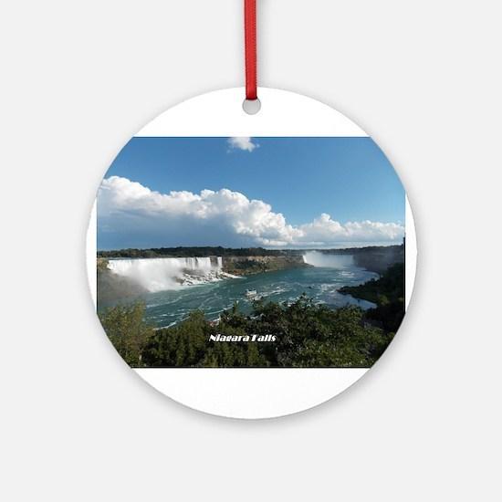 Niagara Falls1 Round Ornament