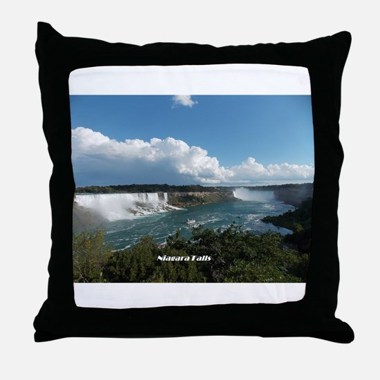 Niagara Falls1 Throw Pillow