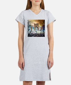 Awesome boat Women's Nightshirt