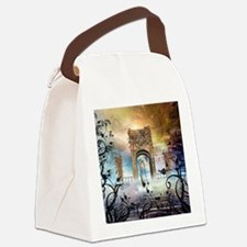Awesome boat Canvas Lunch Bag