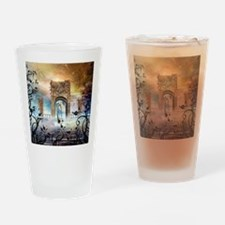 Awesome boat Drinking Glass