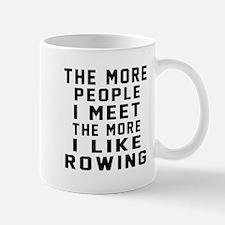 I Like More Rowing Small Small Mug