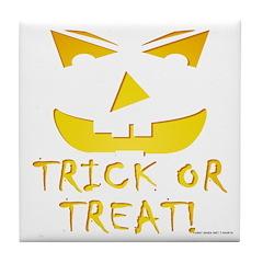 Trick or Treat! Tile Coaster