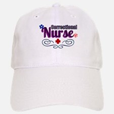 Pretty Correctional Nurse Baseball Baseball Baseball Cap