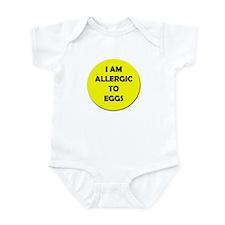 Egg Allergy Infant Bodysuit