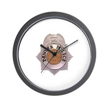Denver Police Department Wall Clock