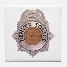 Denver Police Department Tile Coaster