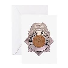 Denver Police Department Greeting Card
