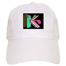 FACE OF THE LETTER 'K' Bluegr Baseball Cap