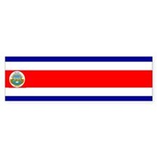 costarica Bumper Bumper Sticker