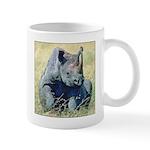 Seated Baby Rhino Mug