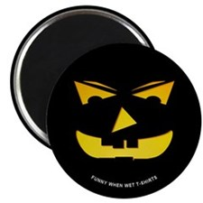 "Maniacal Carved Pumpkin 2.25"" Magnet (10 pack)"