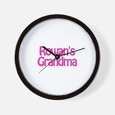 Rowan's Grandma Wall Clock