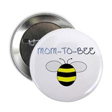 "MOM-TO-BEE 2.25"" Button (100 pack)"