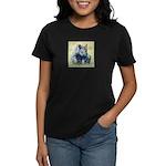 Seated Baby Rhino Women's Dark T-Shirt