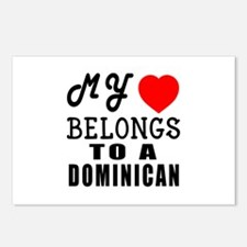 I Love Dominican Postcards (Package of 8)