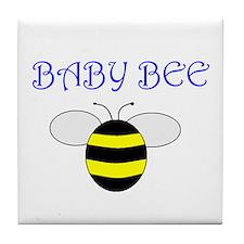 BABY BEE Tile Coaster