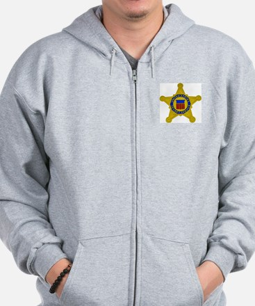 US FEDERAL AGENCY - SECRET SERVICE Zip Hoodie