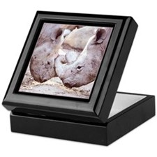 Rhino Love Keepsake Box