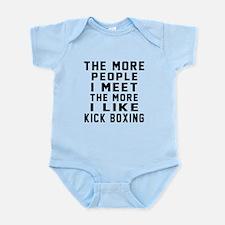 I Like More Kick Boxing Infant Bodysuit