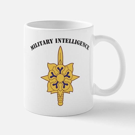 Military Intelligence Large Mugs