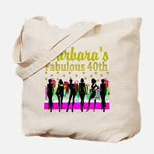 CUSTOM 40TH Tote Bag