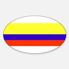 columbia Oval Decal