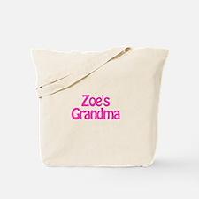 Zoe's Grandma Tote Bag