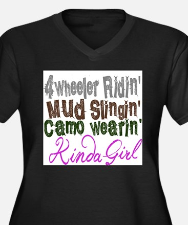 camo wearin, Plus Size T-Shirt