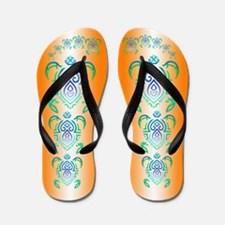 Unique Green Flip Flops