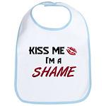 Kiss Me I'm a SHAME Bib