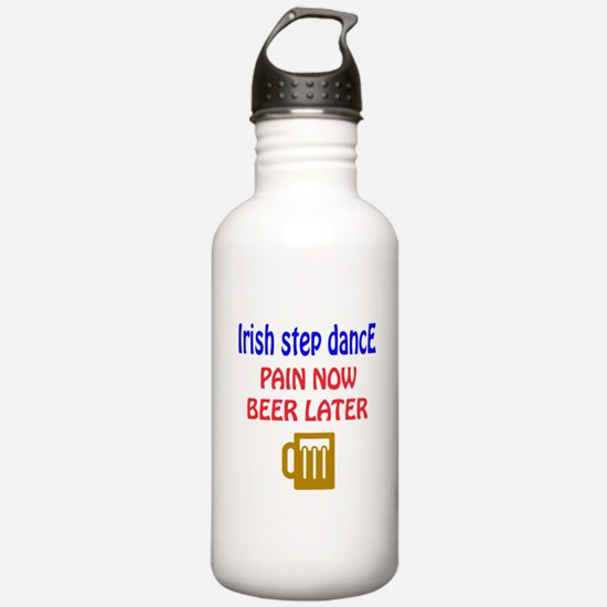 Irish Step dance Pain Water Bottle