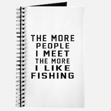 I Like More Fishing Journal