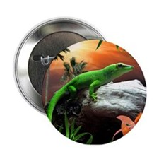 Gecko Lizard Button