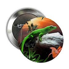 """Gecko Lizard 2.25"""" Button (10 pack)"""