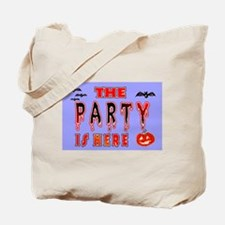 Halloween Party signs  Tote Bag