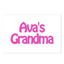 Ava's Grandma Postcards (Package of 8)
