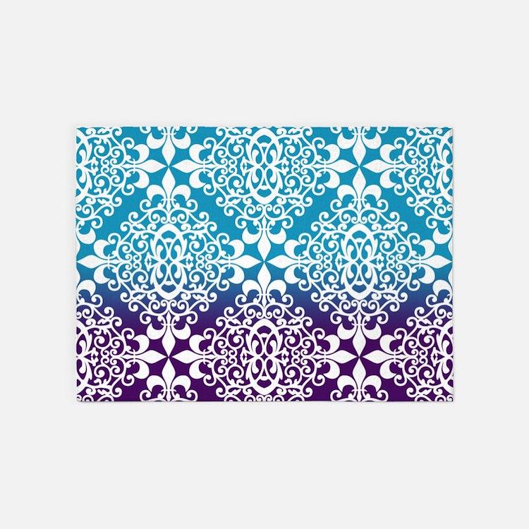 purple damask rug for - photo #11