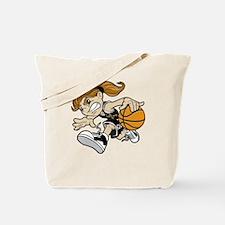 BASKET GIRL Tote Bag