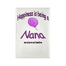 HAPPY NANA Rectangle Magnet