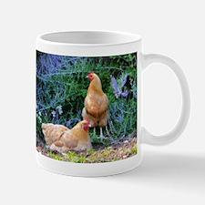 Chickens On The Farm Mugs