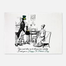 Ardently St. Patrick's Day 5'x7'Area Rug