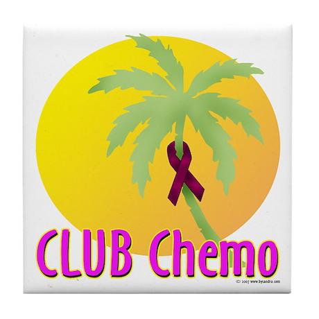 Club Chemo-Multiple Myeloma Tile Coaster