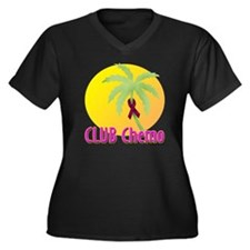 Club Chemo-Multiple Myeloma Women's Plus Size V-Ne