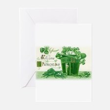 Cute Math saint patricks day Greeting Cards (Pk of 20)