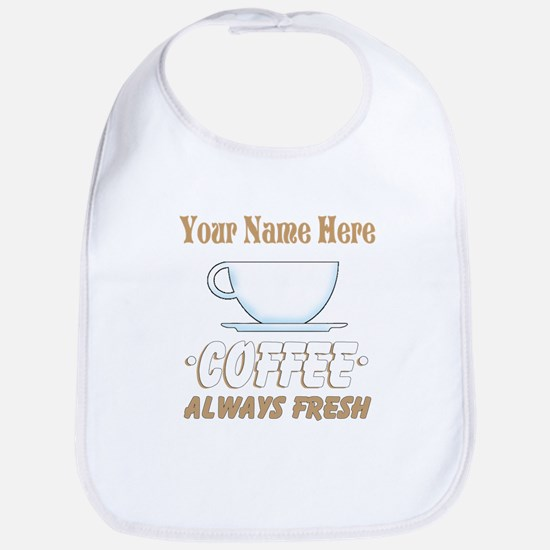 Custom Coffee Shop Bib