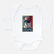 Cute Pit bull Long Sleeve Infant Bodysuit